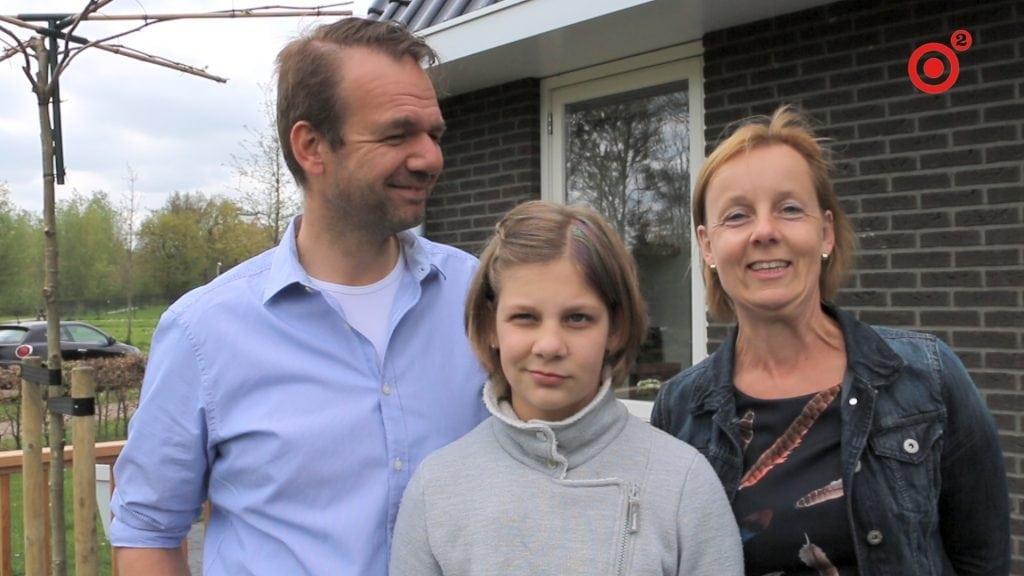 Eric en Amarens verhuisden naar een nieuwbouw huis binnen de wijk