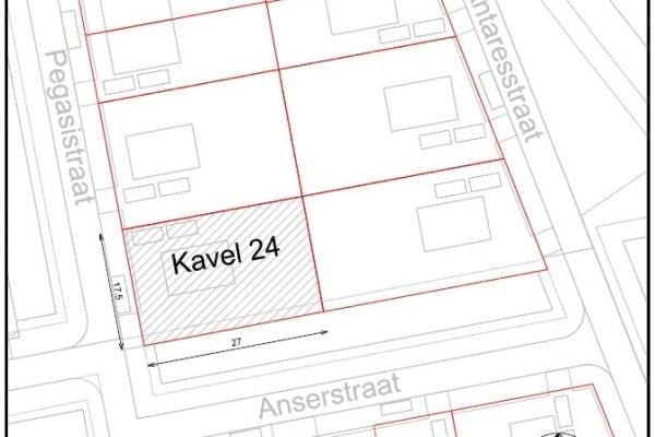 Kavel 24 kopen in De Oostergast, Groningen