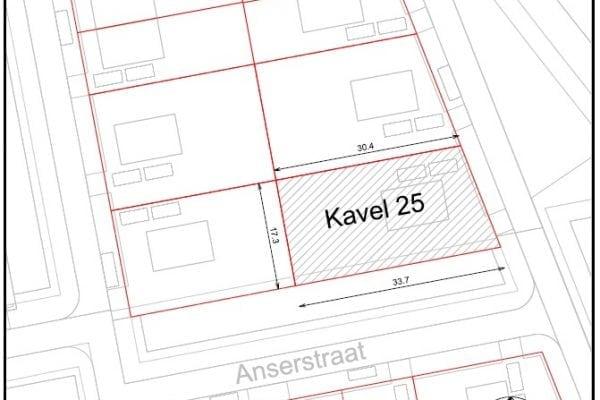 Kavel 25 kopen in De Oostergast, Groningen