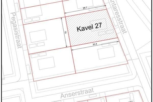 Kavel 27 kopen in De Oostergast, Groningen