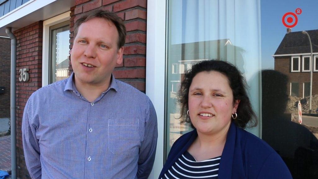 Susane en Wessel lieten een huis bouwen en zijn nu stadjers in een dorp