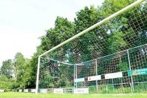 veld van voetbalvereniging VV Zuidhorn aan de Sportlaan